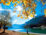 Autumn At Achensee Lake