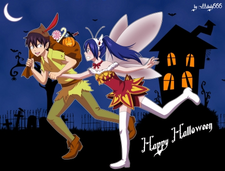 Happy Halloween! from Fairy Tail