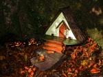 Fairy's Home on Halloween