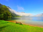 Crystalline And Calm Waters At Attersee Lake