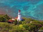 Diamond Head Lighthouse in Hawaii