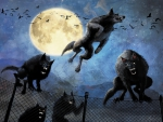 Werewolf Pack Attack