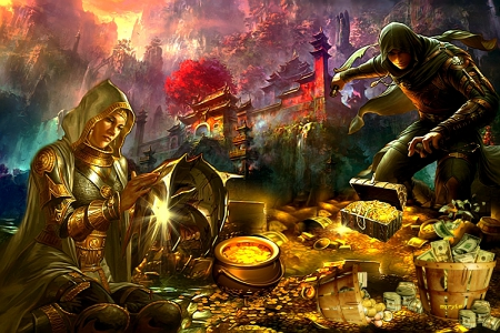 Risultati immagini per fantasy treasure