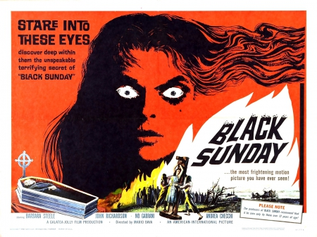 Black Sunday 1960 01 - Black Sunday 1960 01, horror, halloween, movie poster