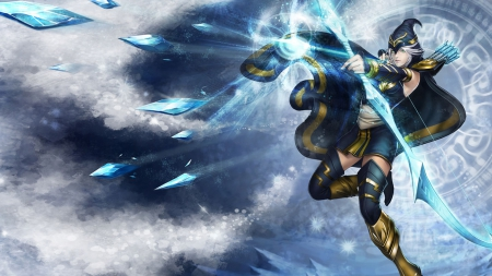Ashe Other Video Games Background Wallpapers On Desktop