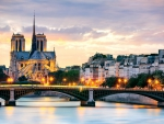 Notre Dame Cathedral and Bridge