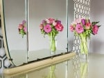 Flowers and Mirror