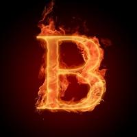 Letter_B_In_Fire