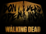 the Walking Dead dont open dead inside