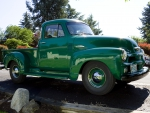 Old Green Chevy Pickup