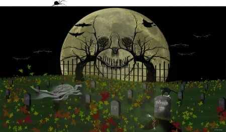 Halloween 3 - Halloween art by Todd Denton, Halloween picture, Halloween PC wallpaper, Halloween Image