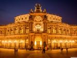 Opera House in Dresden, Germany
