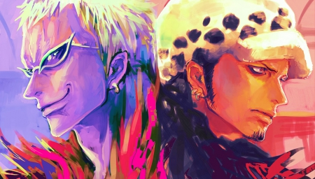 Doflamingo Law Other Anime Background Wallpapers On