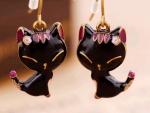 Black cat pendants