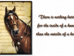 Horse Proverb