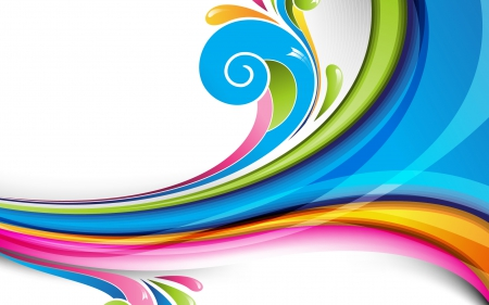 Colorful Rainbow Textures Abstract Background Wallpapers