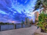 Brisbane, Australia Cityscape - hdr