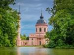 Schwetzingen Mosque in Germany - hdr