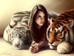 Girl with the Tigers