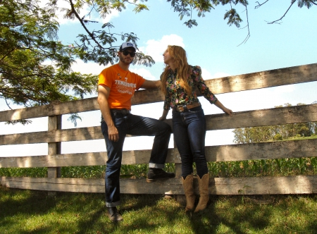 Tennessee Cowgirl - female, male, westerns, ranch, fun, outdoors, women, fences, cowgirls, love, girls, Tennessee
