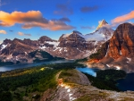 Assiniboine Sunrise