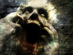 horror scream