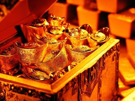 My Treasure Chest - treasure chest, bullion, money, gold