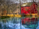 Red House in the Country