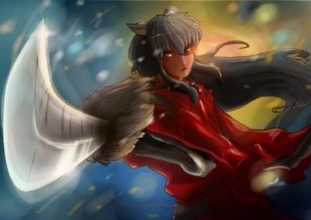 Tessaiga Inuyasha Anime Background Wallpapers On Desktop Nexus