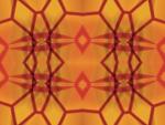 Amber Glass Panel