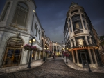 Beautiful Street - hdr