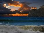 Beautiful Seascape - hdr