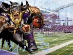 Smashing through-Vikings