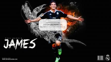 James Real Madrid Wallpaper