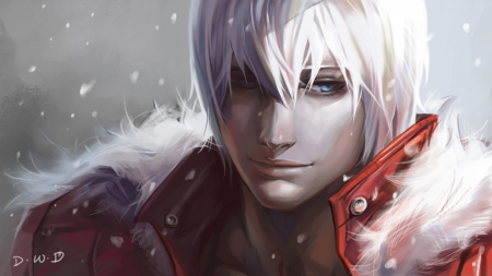 Winter day - dante, game, video, winter, snow, may, day, devil, cry