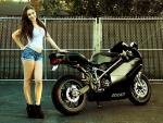 Black Ducati Bike