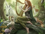 Girl in the Fairy Wood