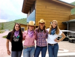 Cowgirls Run The Golf Course