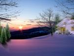 ~*~ Winter Sunset ~*~