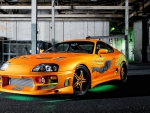 The Fast and Furious Toyota Supra twin turbo