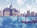 Hatsune Miku in Venice