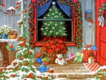 ★Holiday Front Porch★