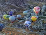 Flight of Hot Air Balloons