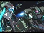 Miku Gundam Crossover