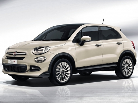 Fiat 500X compact crossover 2015 - 500, fiat car, italian car, crossover, fiat