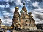 Russian Church - hdr