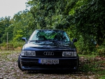 Stanced Audi 80 Sport edition