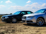 Audi 80 Sport Edition and Audi A4 S-line