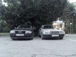 Audi 80 & Mercedes 124