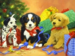 ..Christmas Puppies..